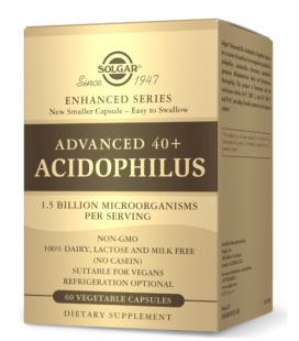 Solgar Advanced 40+ Acidophilus 60vcaps