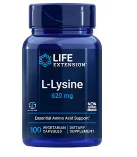 Life Extension L-Lysine 620mg 100vcaps