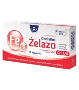 Oleofarm Chellaflex Żelazo 36 kapsułek