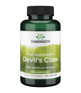 Swanson Devil's Claw 500mg 100caps