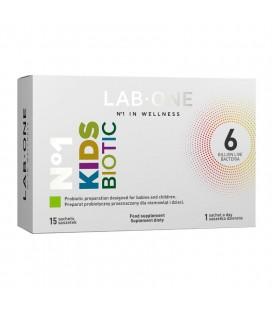 Lab One Kids Biotic 15 saszetek