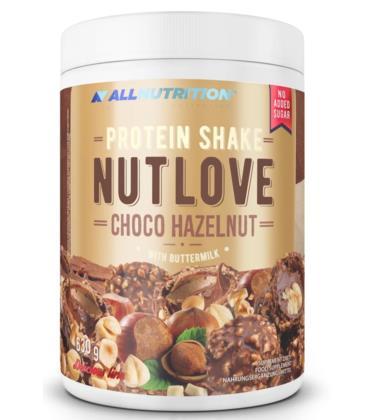 ALLNUTRITION NUTLOVE PROTEIN SHAKE 630g Choco Hazelnut