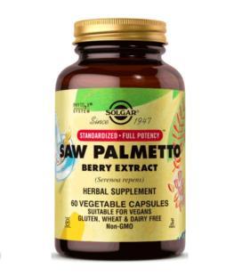 Solgar Saw Palmetto Berry Extract 60 kapsułek wegańskich