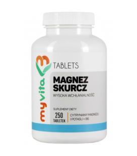 MyVita Magnez Skurcz 250 Tabletek