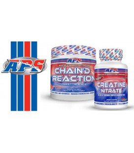 APS Creatine Nitrate 200kaps + Chain Reaction 300g