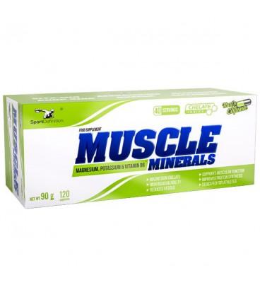 Sport Definition Muscle Minerals 120kap