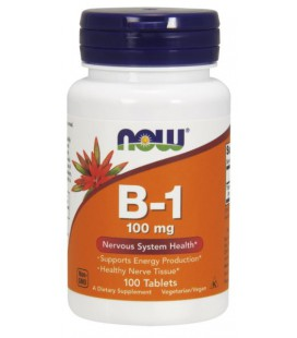 NOW FOODS B-1 100mg 100 TABS