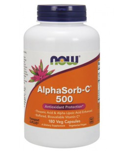 NOW FOODS ALPHASORB-C(R) 500MG 180 VCAPS