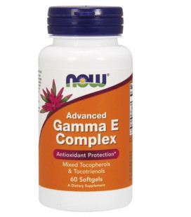 NOW FOODS ADVANCED GAMMA E COMPLEX 60 SGELS