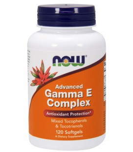 NOW FOODS ADVANCED GAMMA E COMPLEX 120 SGELS