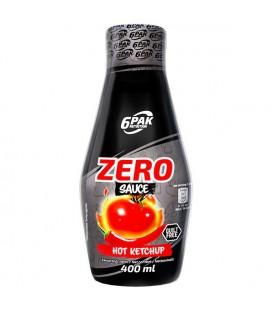 6PAK Nutrition Sauce ZERO KETCHUP 400ml