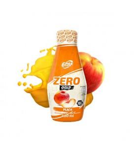 6PAK Nutrition Syrop ZERO BRZOSKWINIA 400ml