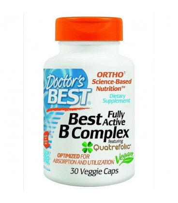 Doctor's Best Fully Active B-Complex 30 vcaps