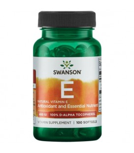 Swanson Natural Vitamin E 400IU 100softgels