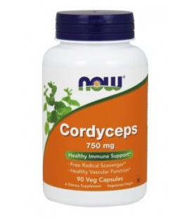 NOW Cordyceps 750mg 90 VCAPS