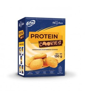 6PAK Nutrition Protein Cookies 130g