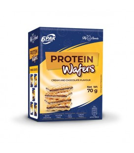 6PAK Nutrition Protein Wafers 70g