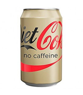 Coca Cola Diet No Caffeine 330ml