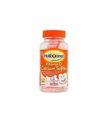 Haliborange Calcium & Vitamin D Softies 30tabs