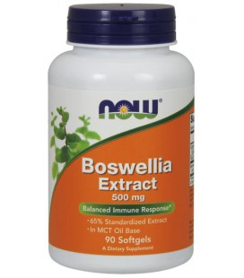 NOW BOSWELLIA EXTRACT 500MG 90 SOFTGEL