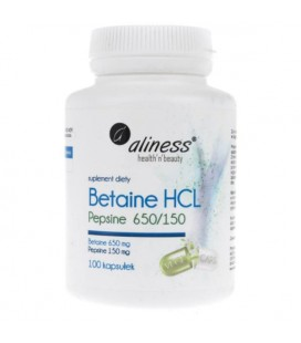 Aliness Betaina HCL Pepsine 650/150 100 kaps
