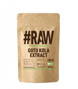 RAW Gotu Kola Extract 500mg 120cap