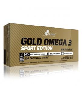 Olimp Gold Omega 3 Sport 120 kaps.