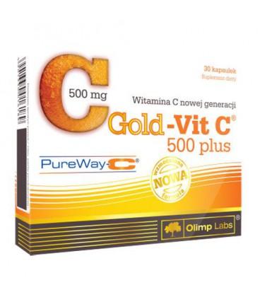 Olimp Gold-Vit C 500 Plus 30 kaps.