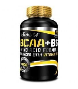 BioTech BCAA+B6 1000 200tab