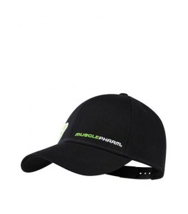 Musclepharm Hat Flatbrim White Black (457)