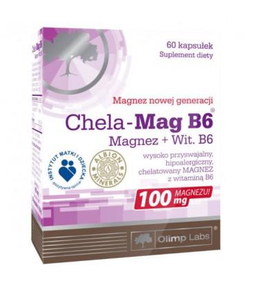 Olimp Chela Mag B6 60kaps.