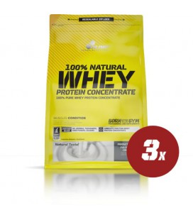 Olimp 100% Whey Protein Concentrate - 3x 700g