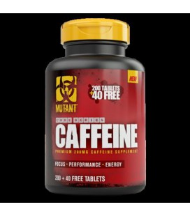 Mutant Core Caffeine - 240 tablets