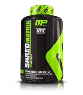 Musclepharm Shred Matrix 120caps
