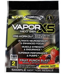 Muscletech Vapor X5 Next Generation 2serv