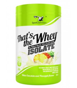 Sport Definition That's the Whey ISOLATE 600g