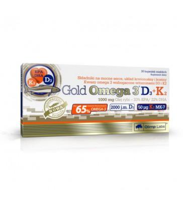 Olimp Gold Omega 3 D3+K2 30kaps.