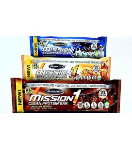 Muscletech Mission1 Clean Protein Bar 60g