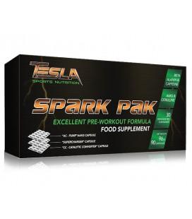 Tesla Spark Pak 90 caps box