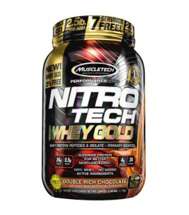 Muscletech Nitro-Tech 100% Whey Gold 1,35kg