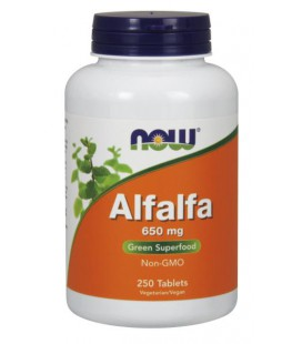 NOW FOODS ALFALFA 10 GRAIN 250 TABS