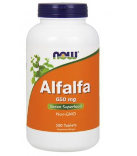 NOW FOODS ALFALFA 10 GRAIN 500 TABS