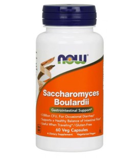 NOW FOODS SACCHAROMYCES BOULARDI 60 VCAPS