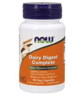 NOW FOODS DAIRY DIGEST COMPLETE 90 VCAPS