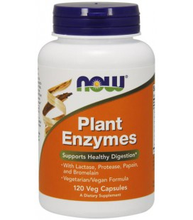 NOW FOODS PLANT ENZYMES 120 VCAPS