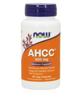 NOW FOODS AHCC(R) 500MG 60 VCAPS