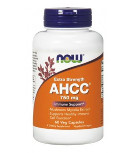 NOW FOODS AHCC(R) 750MG 60 VCAPS
