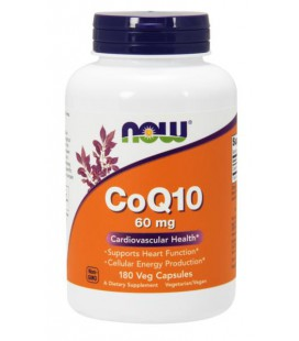 NOW FOODS CoQ10 60mg 180 VCAPS