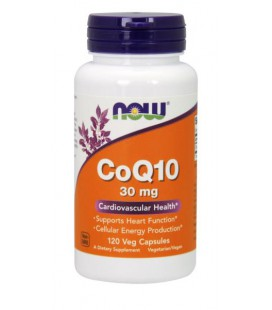 NOW FOODS CoQ10 30mg 120 VCAPS