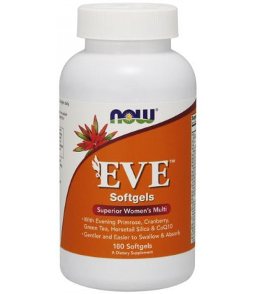 NOW FOODS EVE WOMAN'S MULTI 180 SGELS